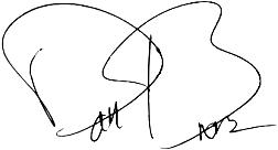 IS THIS WRITTEN IN CODE? Dan Brown's signature.