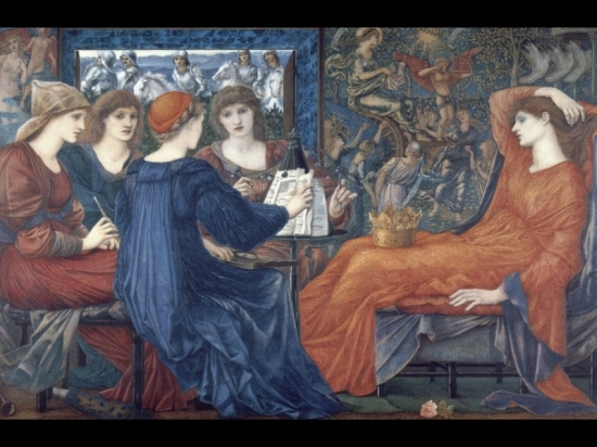 """There is an air of malaise within the painting,"" notes one critic about Laus Veneris by Edward Burne-Jones. I couldn't agree more."