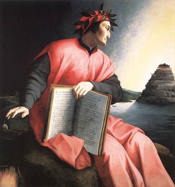 Il Miglior Fabbro in a pensive mood (perhaps thinking about books and book reviewers): portrait by Agnolo Bronzino