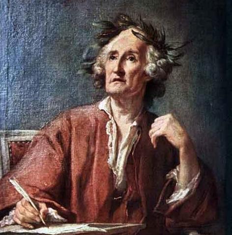 The Poet: by Jean-Bernard Restout