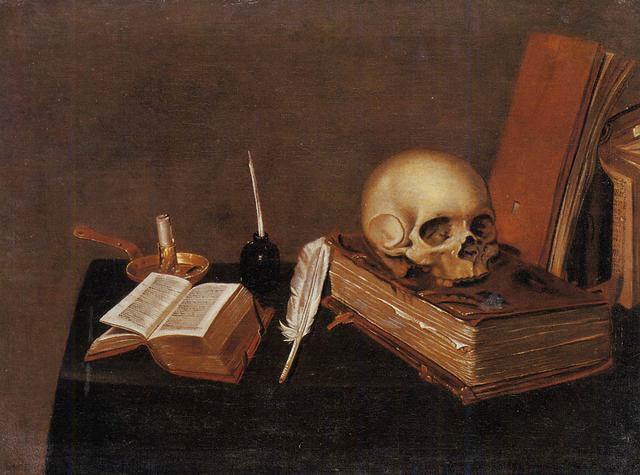 Vanitas (still life): Michael Conrad Hirt, 1630