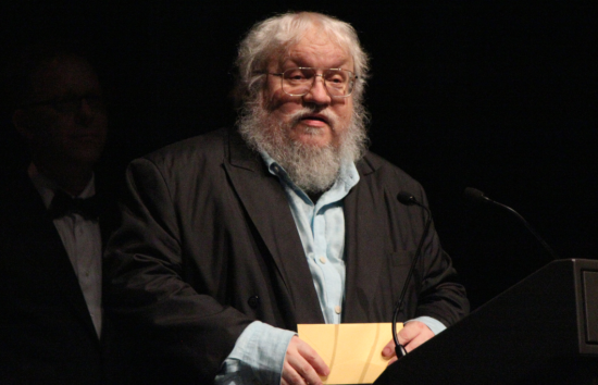 George R.R. Martin in 2010. Credit: Julle