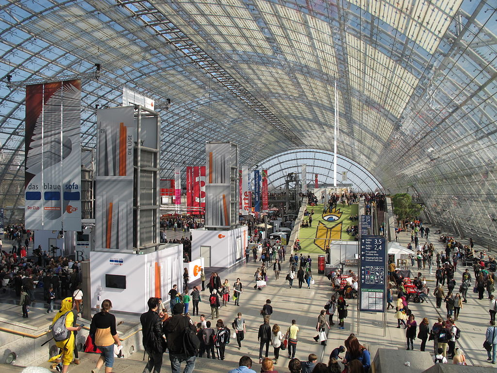 International book fair, Leipzig, 2014