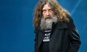 What are you looking at?: Alan Moore (credit: The Guardian).
