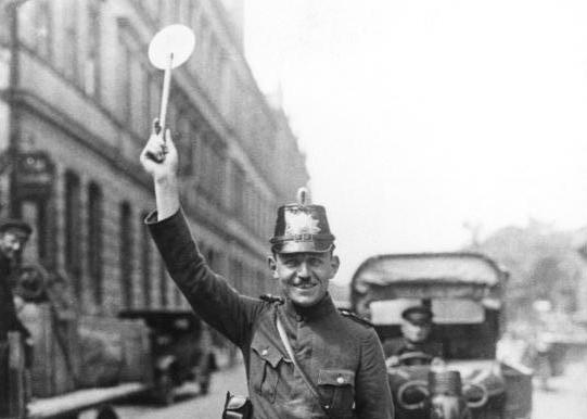 traffic police in berlin