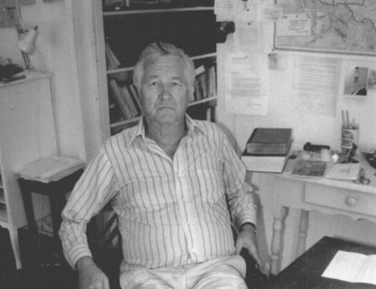 Styron in 1989. Credit: William Waterway