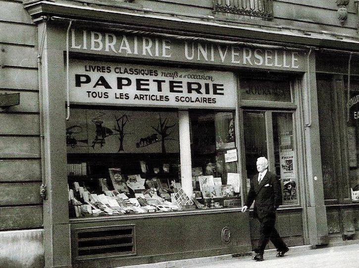 french bookshop 1940